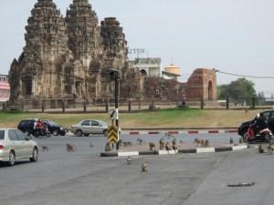 Phra Prang Sam Yod in Lopburi