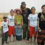 The People of Myanmar - pilgrims in Bagan