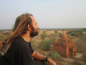 Temples of Bagan - Solo Travel Pose!