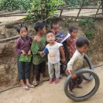 The people of Myanmar - kids in a village near Hsipaw