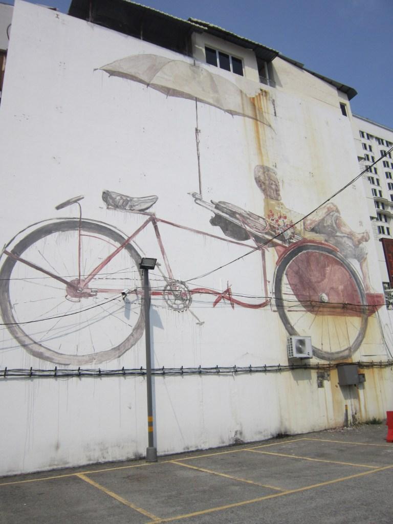 Penang Street Art rickshaw