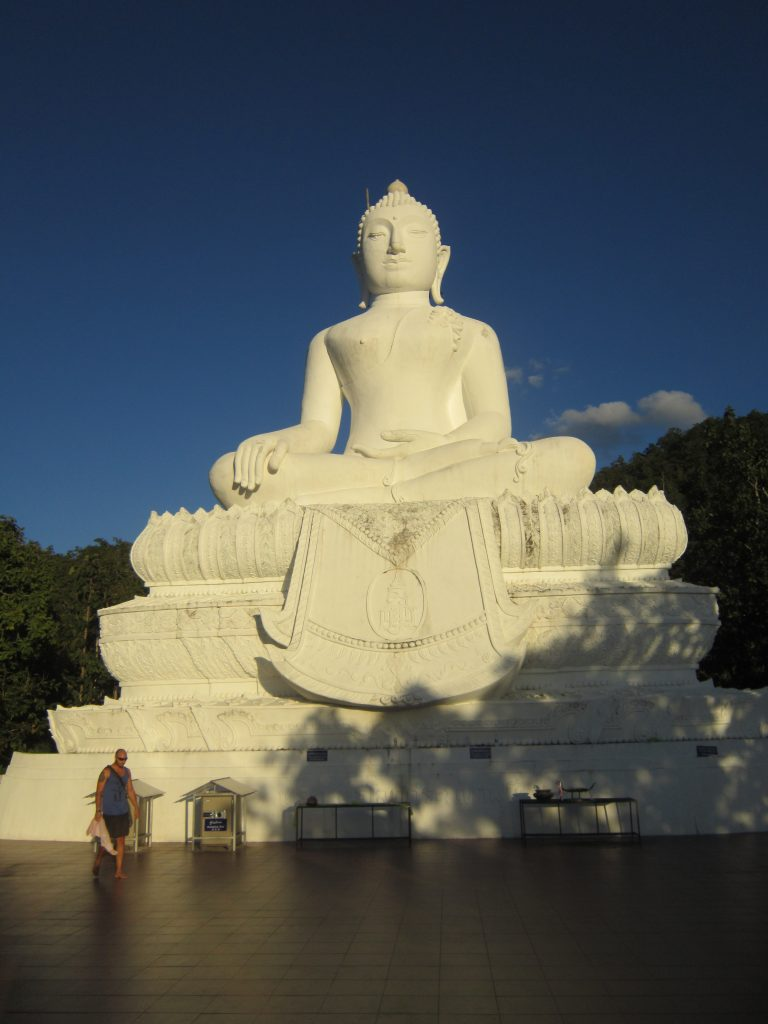 Things to do in Pai The White Buddha