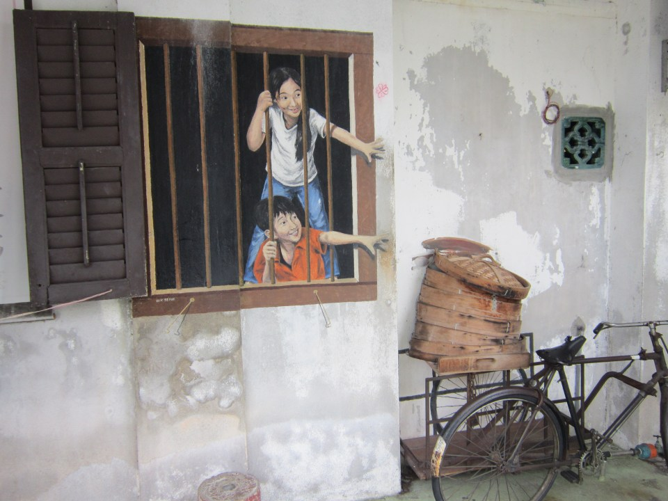 Penang Street Art I Want Pau