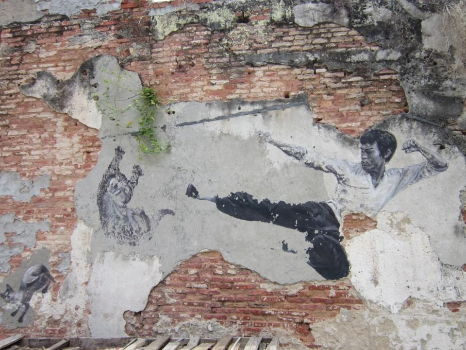 Penang Street Art Bruce Lee