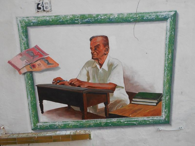 Melaka Street Art Man
