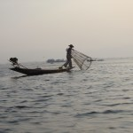 People of Myanmar - Fisherman on Inle Lake