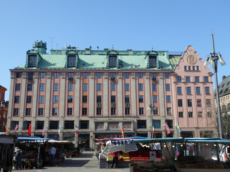 The old PUB department store in Stockholm