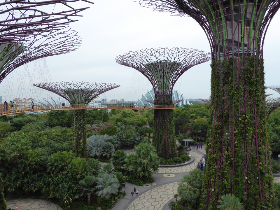 The Garden By The Bay - Southeast Asia backpacking itinerary