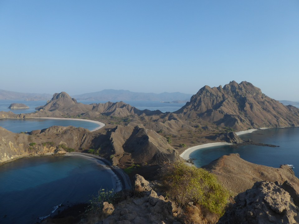 The view at Padar island