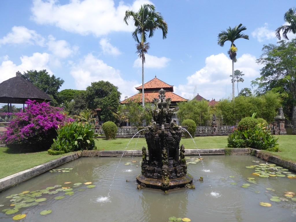 Water Display at Taman Ayun