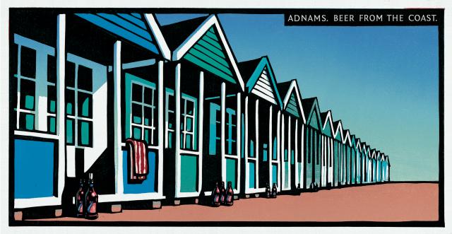 Adnams 'Beach Huts' 48