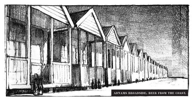 Adnams 'Beach Huts' Rough