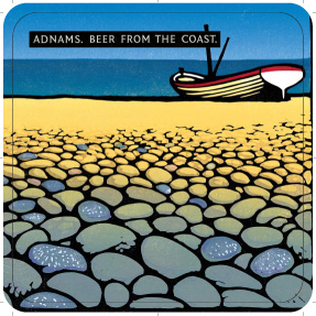 Adnams Pebbles' Beer mats back 4