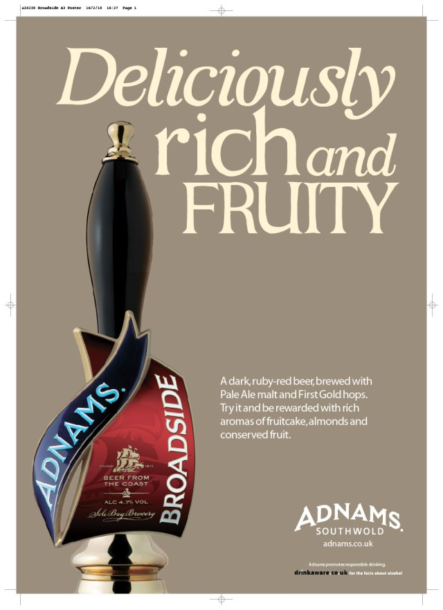 Adnams %22Boatbuilder%22 Ads, Rich & Fruity-01