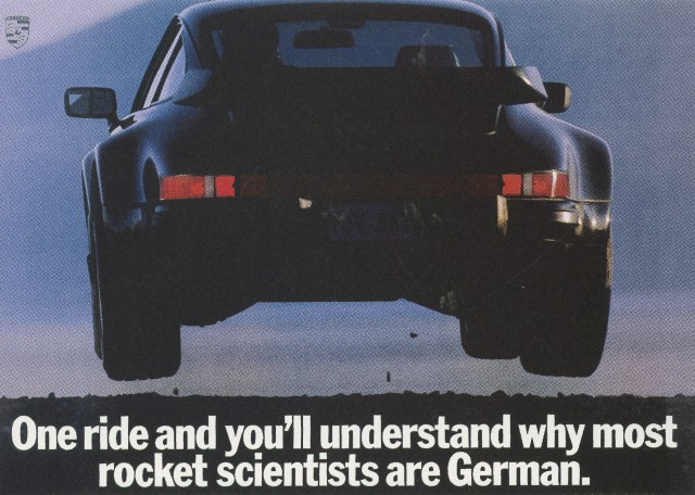 Fallon McElligott, Porsche 'Rocket Scientists'-01