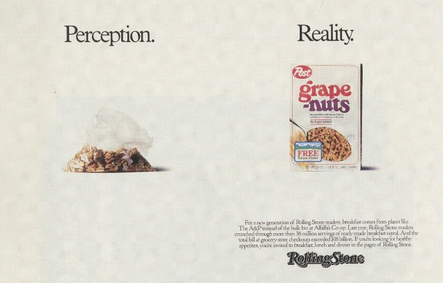 Fallon McElligott, Rolling Stone 'Grape Nuts'-01