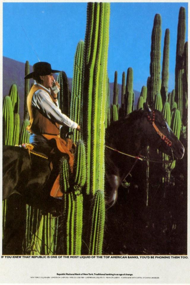 Paul Arden (Brian Griffin) Republic Bank 'Horse'-01