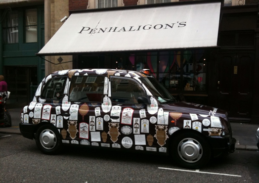 Penhaligons-taxi