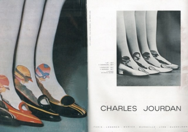 'Cars Legs' Charles Jourdan, Guy Bourdin, Paris Vogue - March 1967