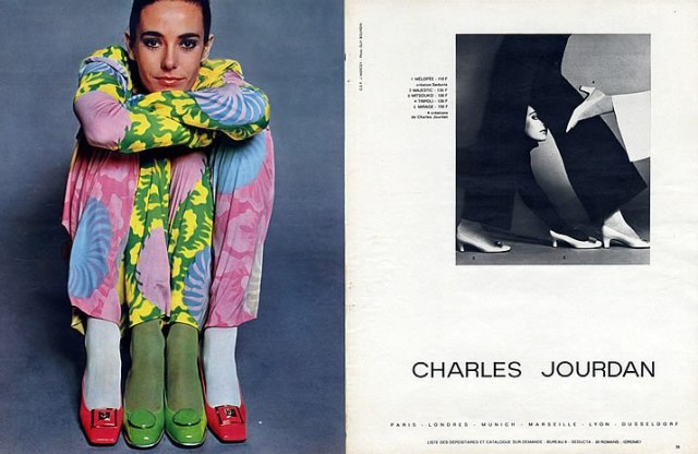 'Four Legs' Charles Jourdan, Guy Bourdain, 1967, Melopee Majestic-Mitsouko
