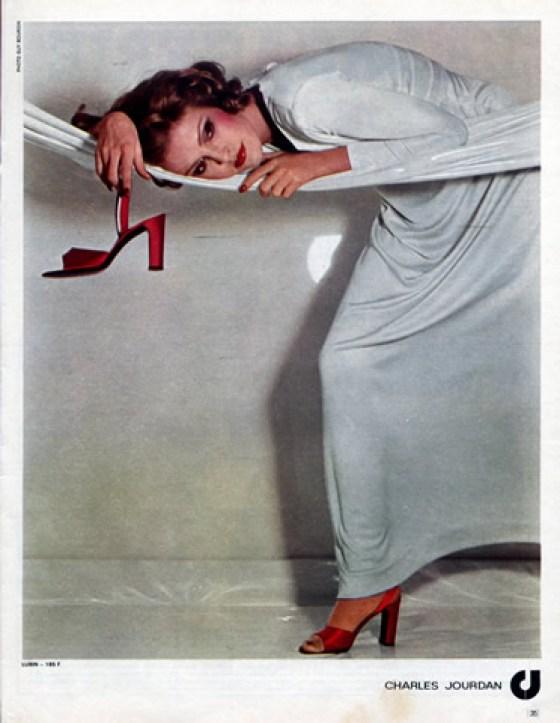 'Red Shoe' Charles Jourdan, Guy Bourdain, 1973