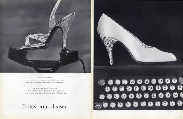 Capobianco-shoes-laure-shoes, Guy Bourdain, 1956