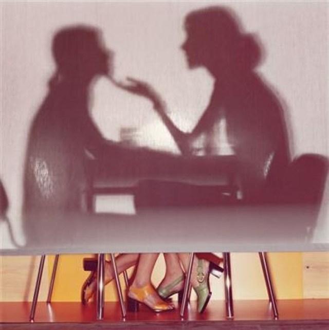 'Dinner Silhouettes' Charles Jourdan, Guy Bourdain