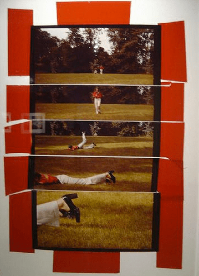'Red Tape' Charles Jourdan, Guy Bourdin