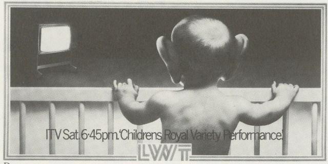 LWT 16. 'Children's Royal Variety'-01