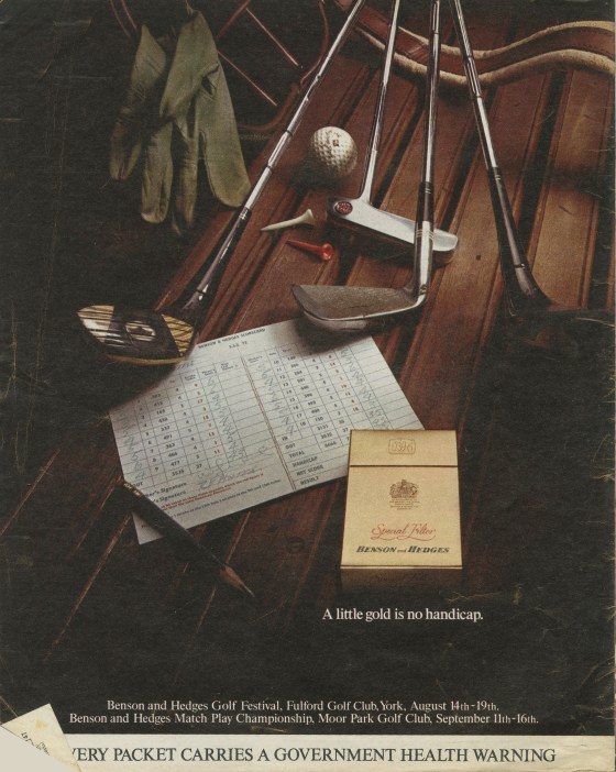 B&H Gold Box 'Golf Club' CDP-01