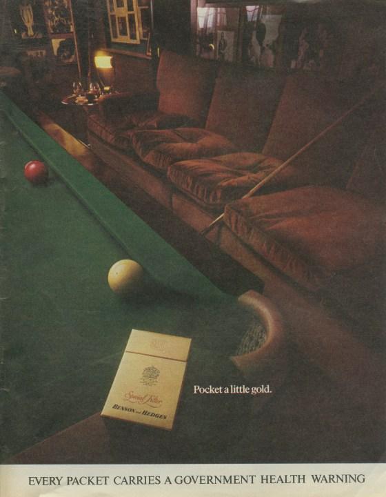 B&H Gold Box 'Snooker' CDP-01