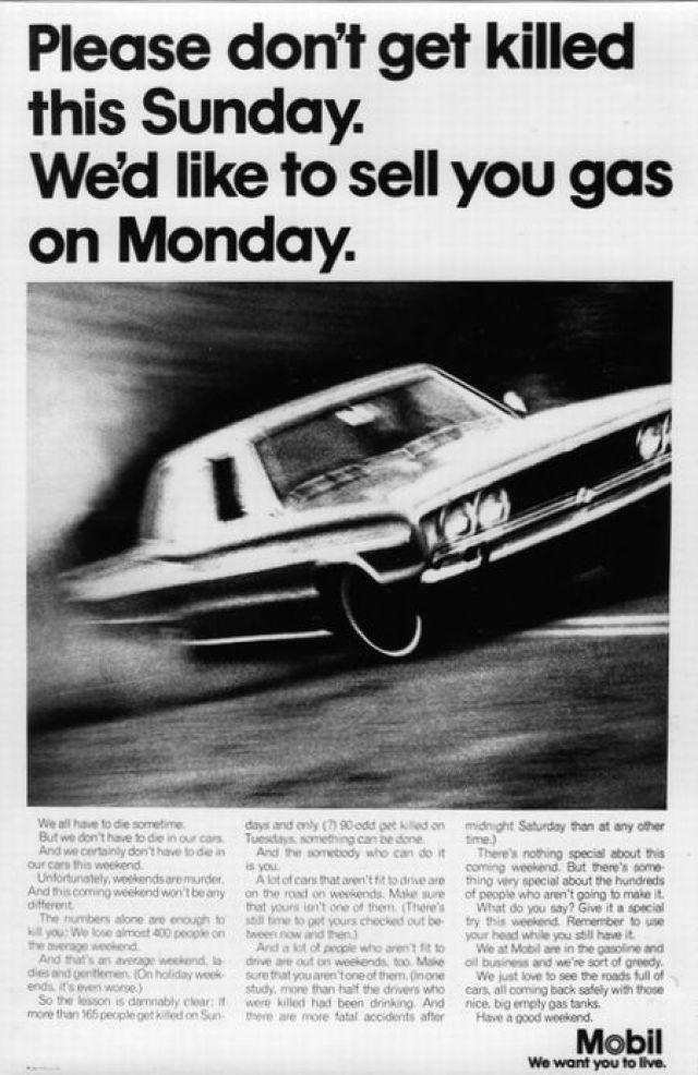 Mobil 'Sell You Gas' Len Sirowitz, Bob Levenson, DDB