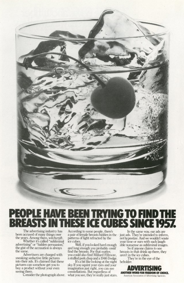 Fallon McElligott, Advertising, 'Icecubes'-01
