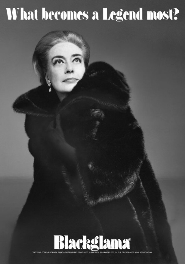 Blackgamma ad - 1969 joan crawford