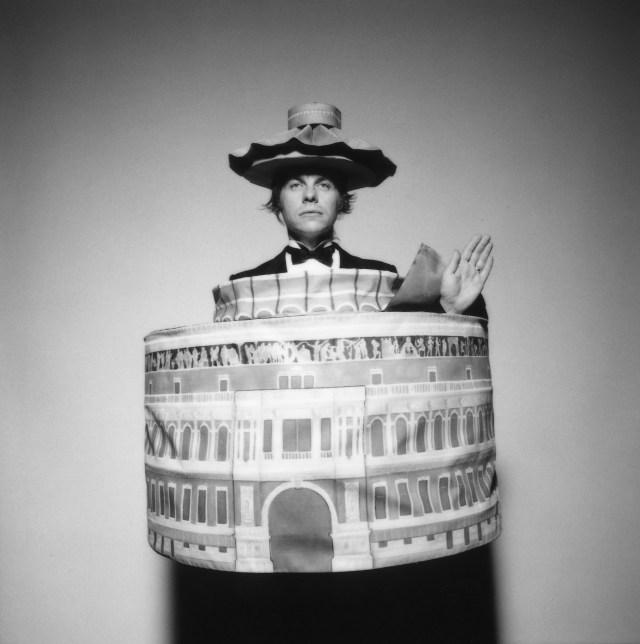 Brian Griffin in Albert Hall