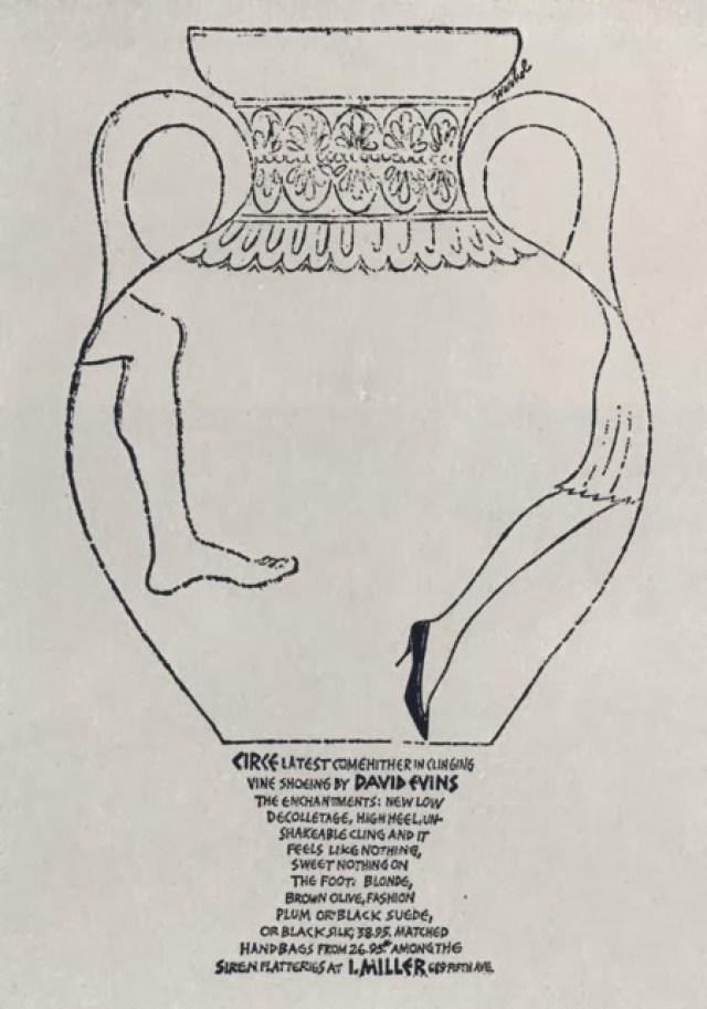 Jane Trahey - I.Miller, Andy Warhol