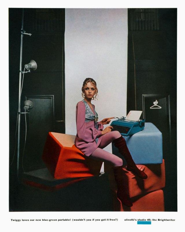 Jane Trahey, Olivetti 'Twiggy'