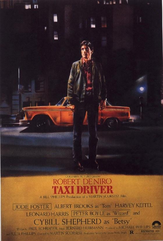 Steve Frankfurt - 'Taxi Driver' Poster,
