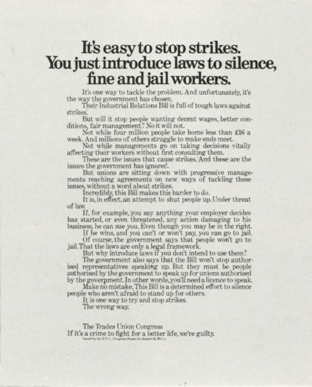 Tim Delaney, Trade Union 'Stop',BMP*