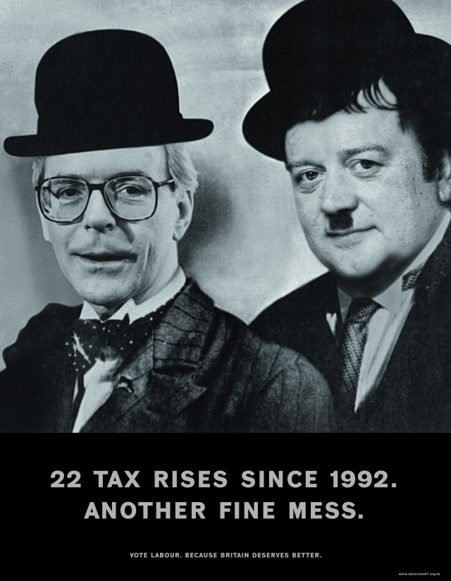 Andy McLeod, Labour 'Laurel & Hardy'