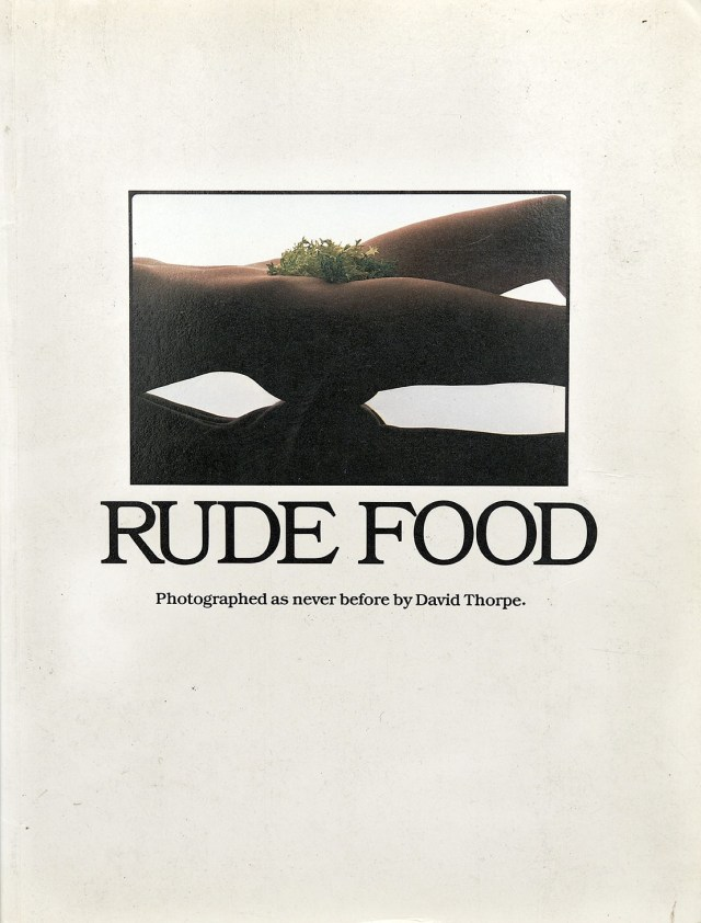 David Thorpe 'Rude Food' Book-01