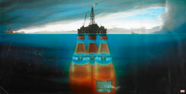Jeff Stark - Irn Bru,' North Sea'