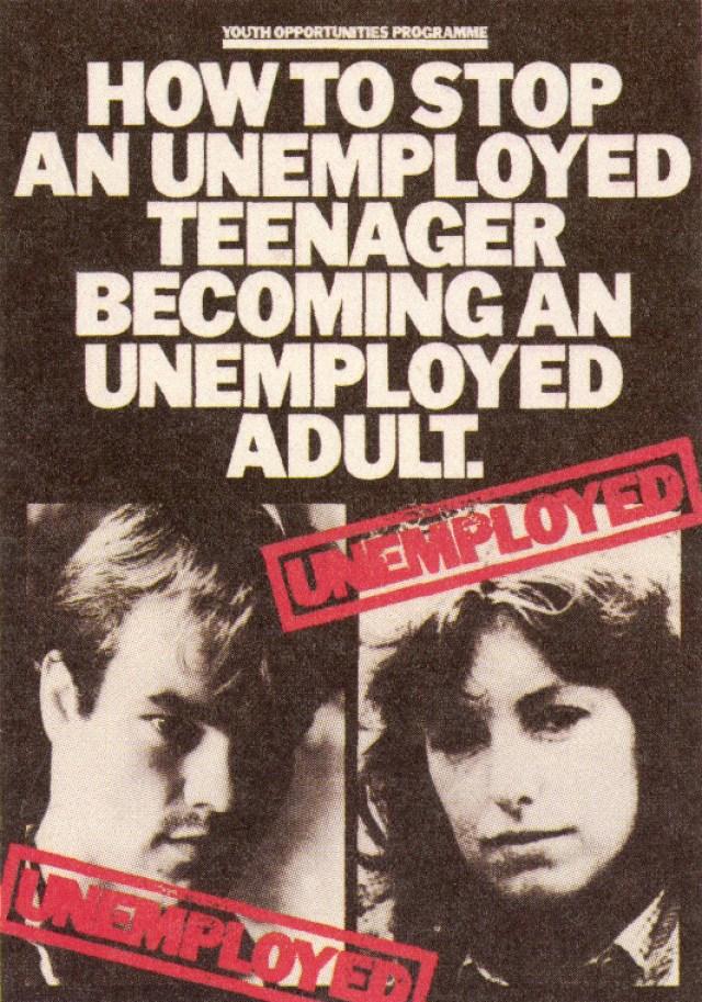 Jeff Stark, Unemplyed Brochure 1, Saatchi's-01