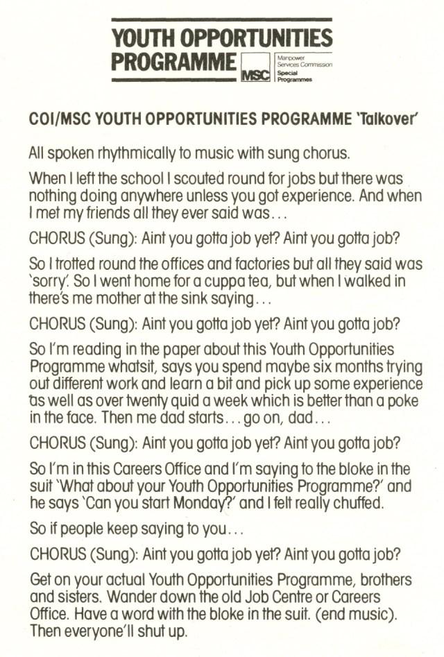 Jeff Stark, Youth Opportunities, Radio, Saatchi's-01