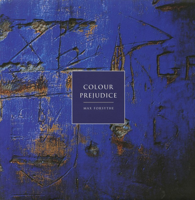 Max Forsythe, Cover of 'Colour Prejudice' book-01