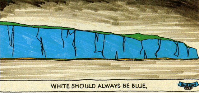 Barney Edwards, Blue Nun 'Blue Cliffs' Rough Saatchi*-01