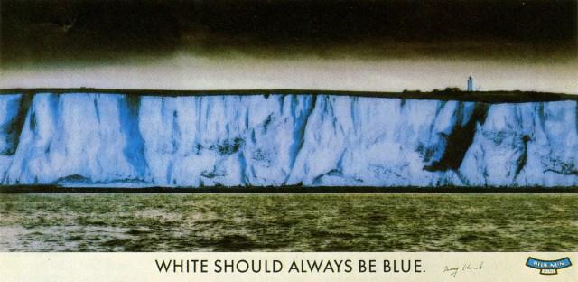Barney Edwards, Blue Nun 'White Cliffs', Saatchi'-01