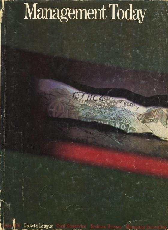 Lester Bookbinder, Management Today 'Pound'*-01