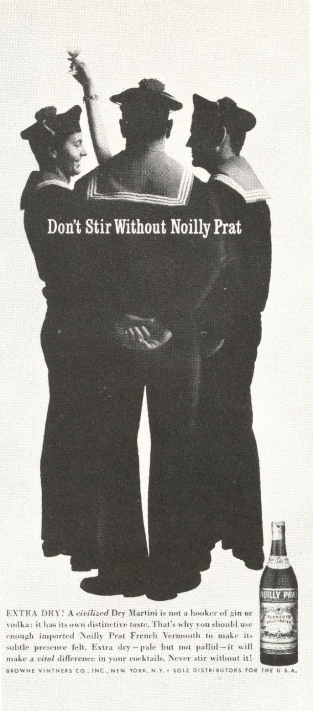 Lester Bookbinder, Noilly Prat 'Sailors' 1961-01