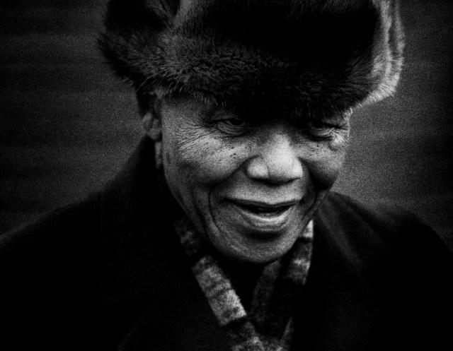 Barney Edwards Nelson Mandela